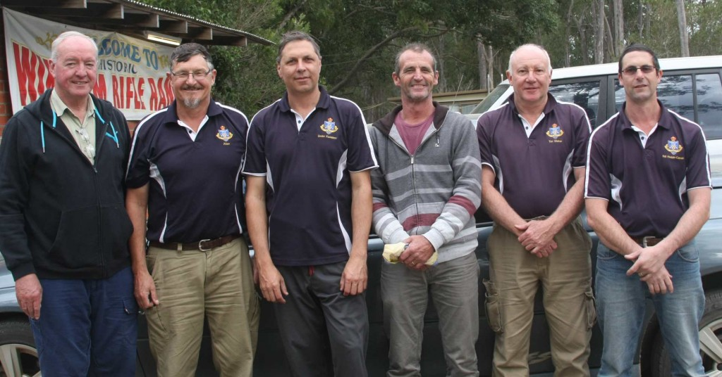 Left-to-rigth: Peter Walters, Allan Humbert, Dmitri Kazakov, Gary Faulkner, Tim Walter, Phill Hodder